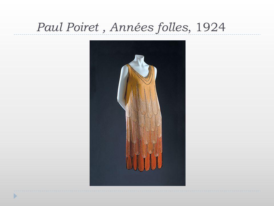 Paul Poiret, Années folles, 1924