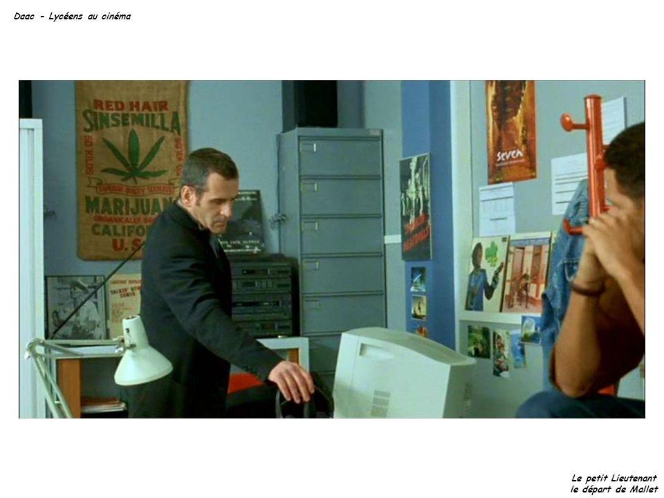 Daac - Lycéens au cinéma Le petit Lieutenant le départ de Mallet