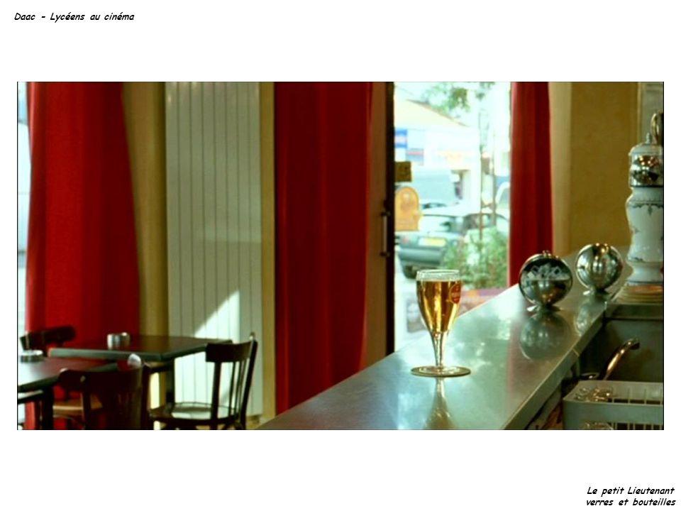 Daac - Lycéens au cinéma Le petit Lieutenant verres et bouteilles