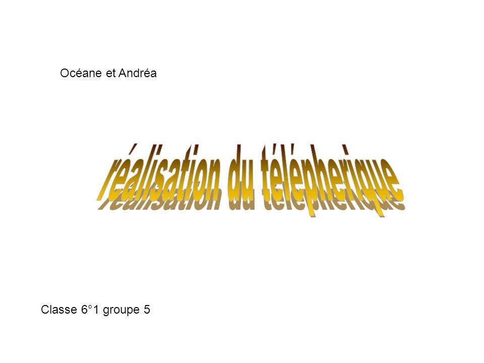 Classe 6°1 groupe 5 Océane et Andréa