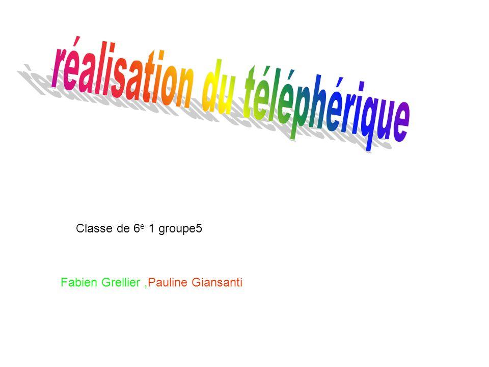 Classe de 6 e 1 groupe5 Fabien Grellier,Pauline Giansanti