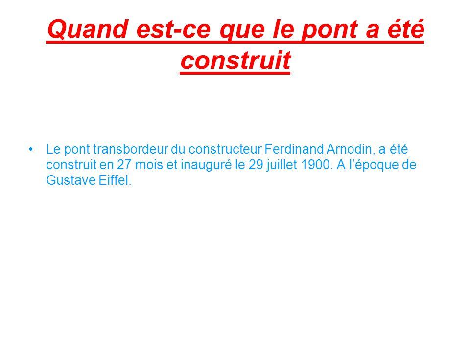 Le constructeur du pont Naissance: Il est né le 9 octobre 1845 Sainte-Foy-lès- Lyon.