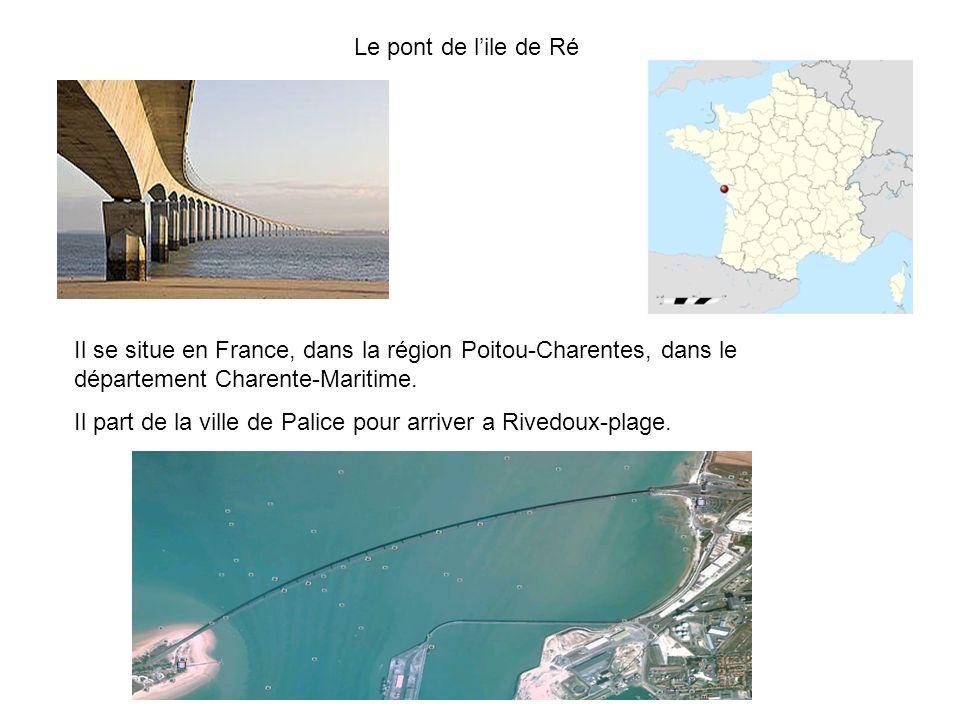 Il se situe en France, dans la région Poitou-Charentes, dans le département Charente-Maritime.