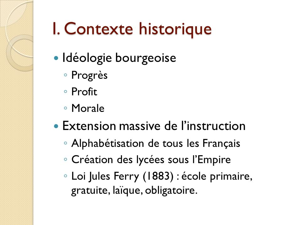 Alfred de Musset (1810-1855) 1845 nommé chevalier de la Légion dHonneur 1852 élu à lAcadémie française 1857 alcoolisme, débauche et malformation cardiaque = mort