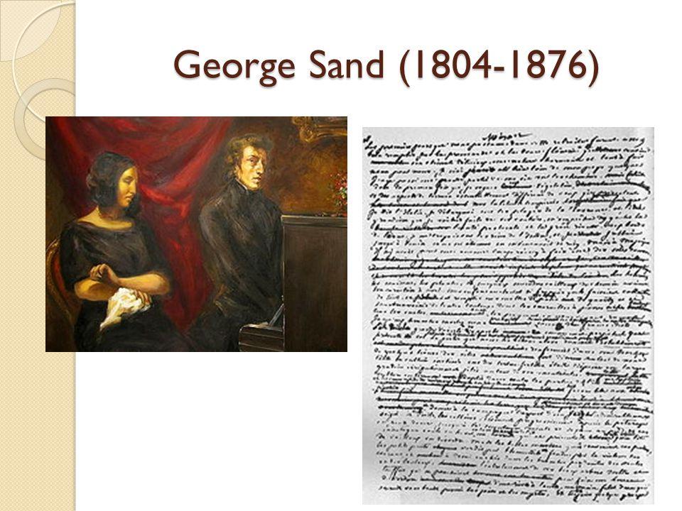 George Sand (1804-1876)