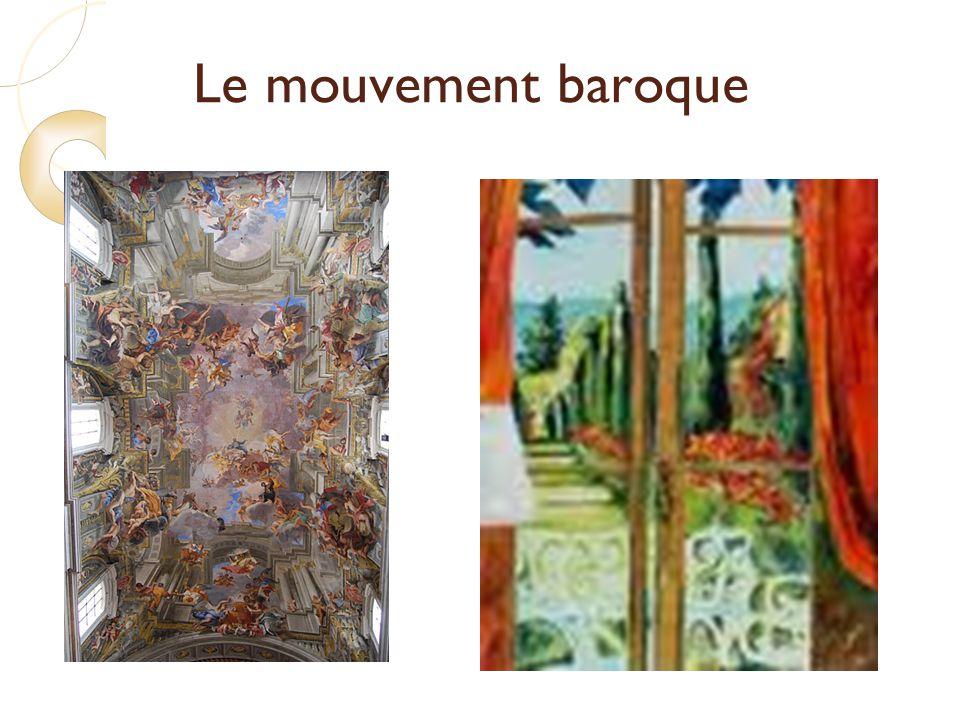 Le mouvement baroque