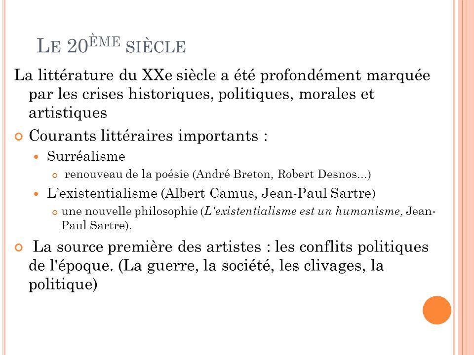 Dans le Premier Manifeste du Surréalisme (1925), on peut lire ces deux définitions : « Surréalisme, n.