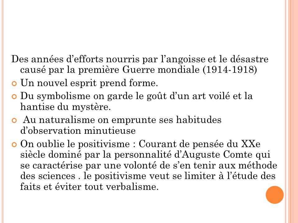 En France, le Nouveau Roman ne concerne que peu d écrivains.