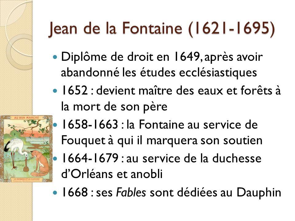 Diplôme de droit en 1649, après avoir abandonné les études ecclésiastiques 1652 : devient maître des eaux et forêts à la mort de son père 1658-1663 :