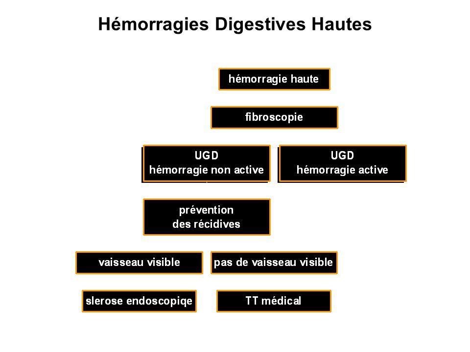Hémorragies Digestives Hautes
