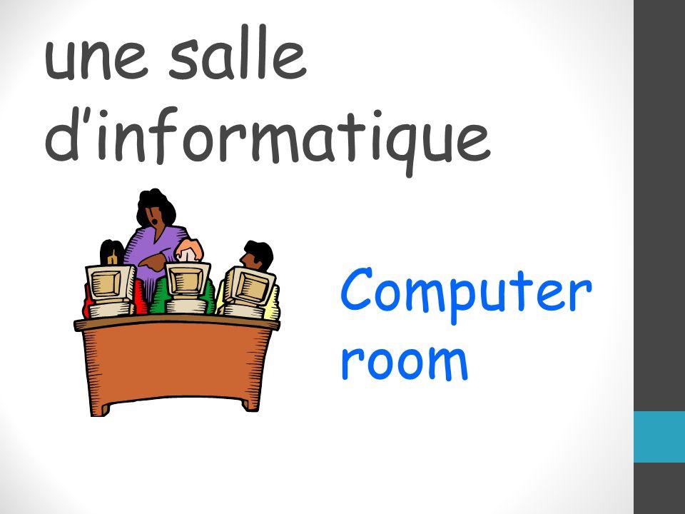 une salle dinformatique Computer room