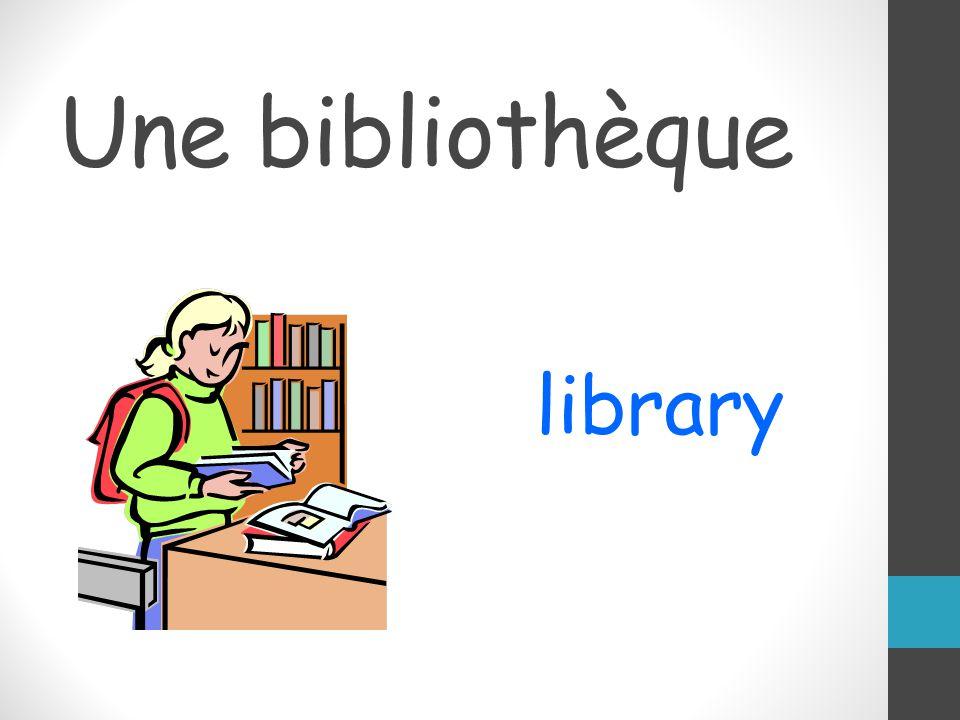Une bibliothèque library