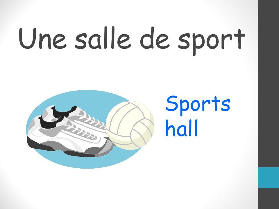 Une salle de sport Sports hall