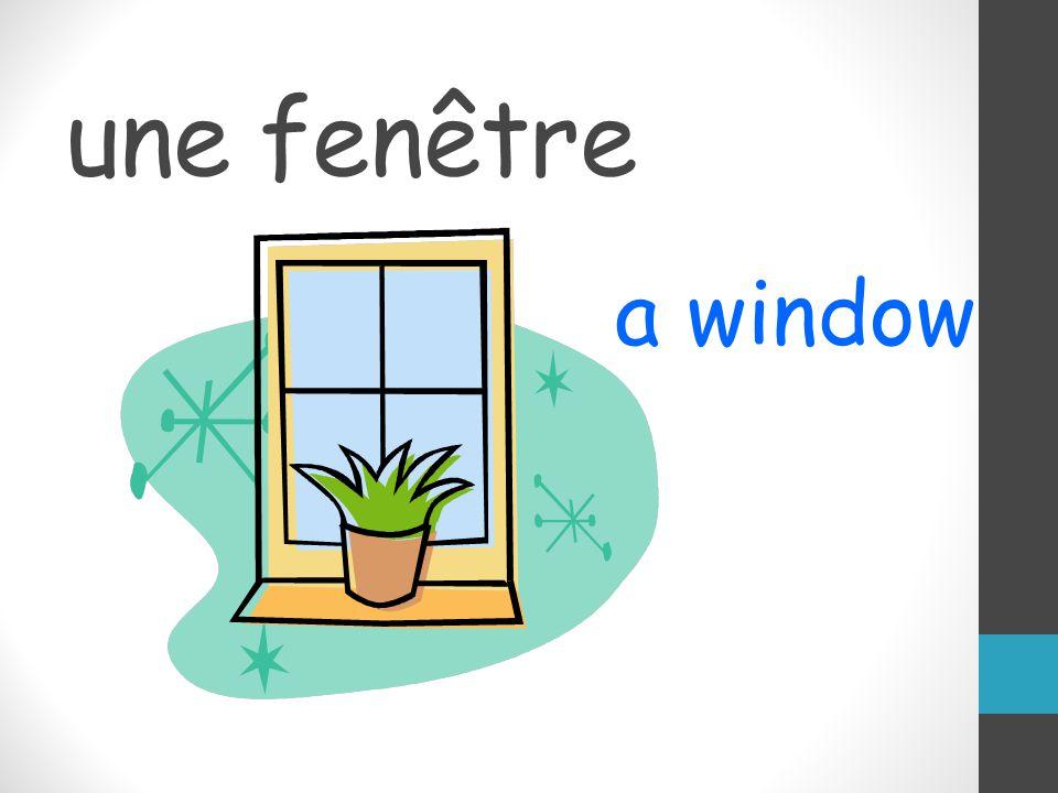 une fenêtre a window