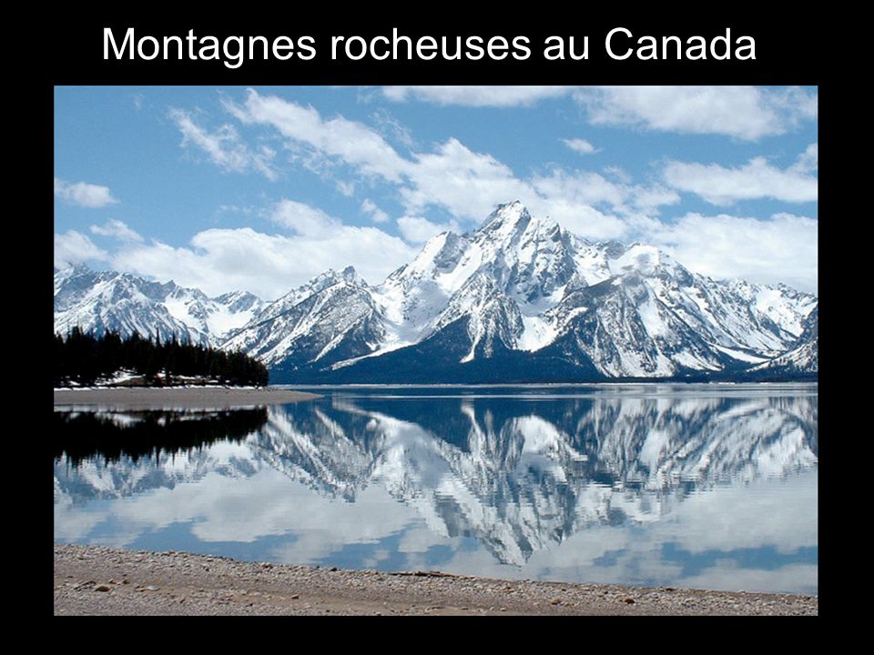 L Montagnes rocheuses au Canada