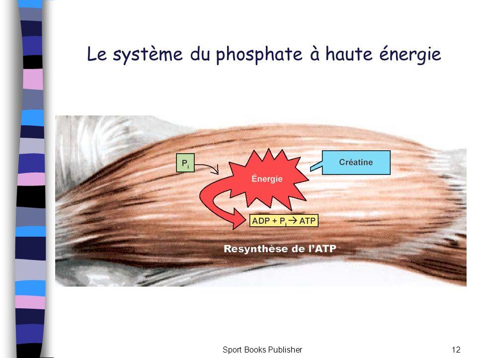 Sport Books Publisher12 Le système du phosphate à haute énergie