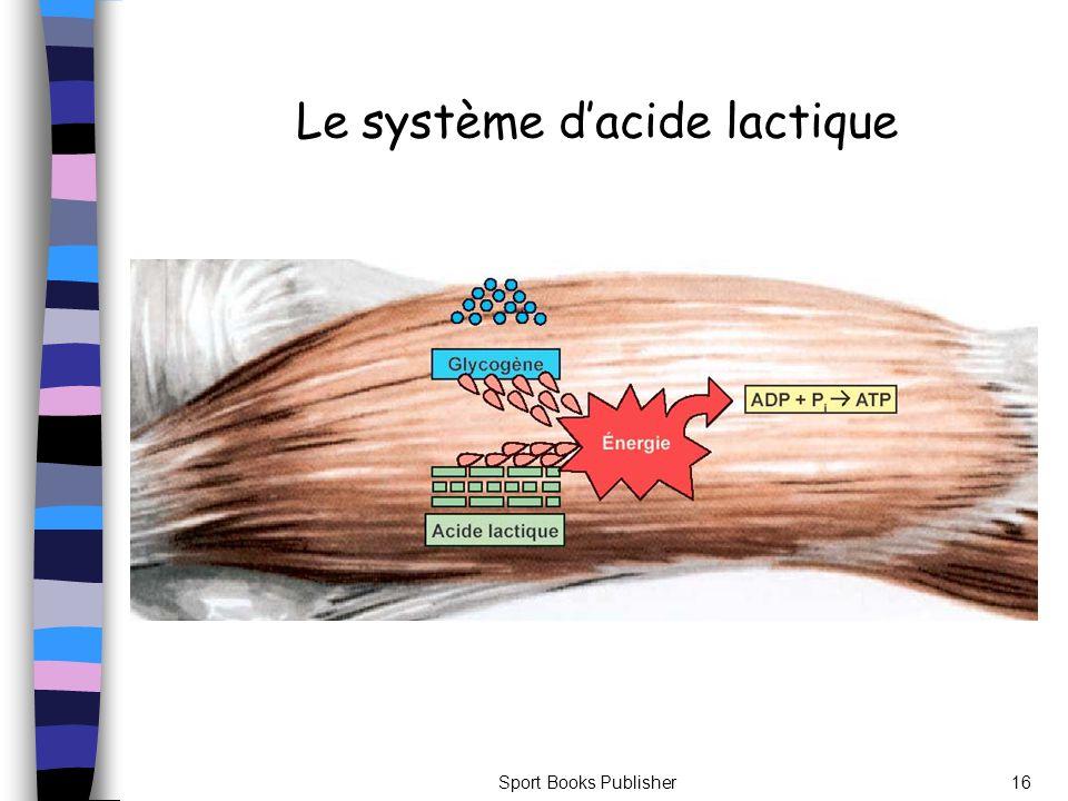 Sport Books Publisher16 Le système dacide lactique