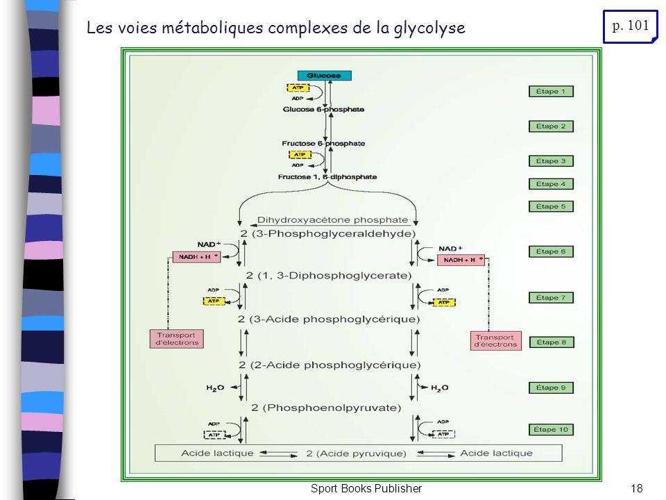 Sport Books Publisher18 Les voies métaboliques complexes de la glycolyse p. 101