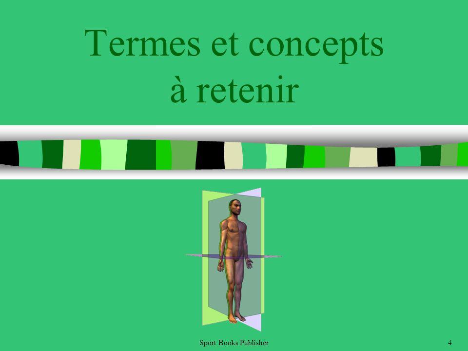 Sport Books Publisher4 Termes et concepts à retenir