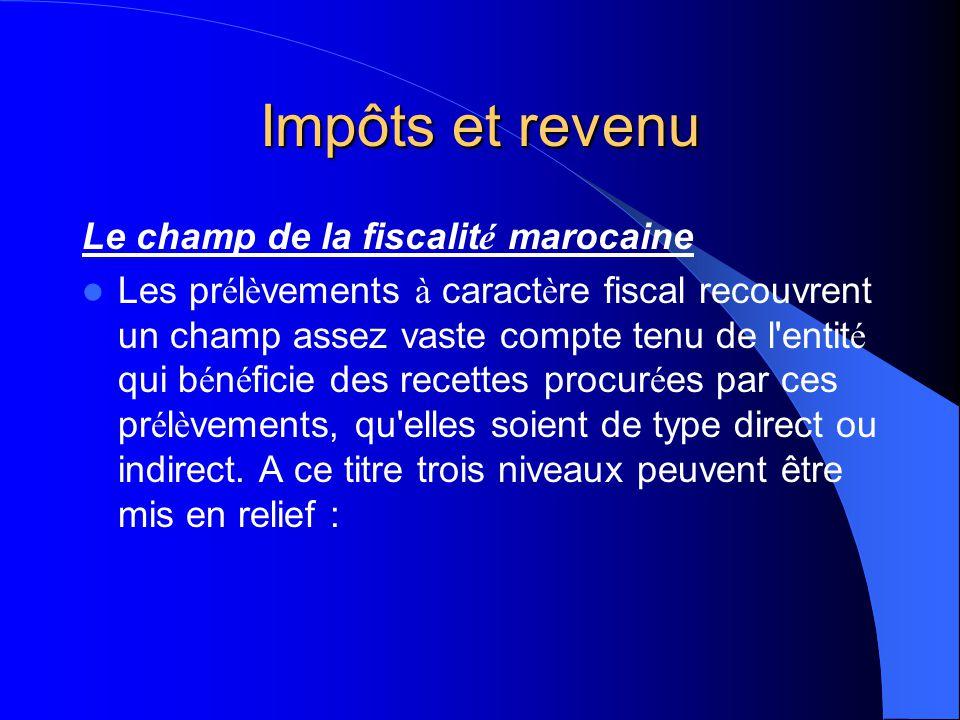 Impôts et revenu La d é finition de la fiscalit é La fiscalit é est l'ensemble des supports juridiques qui r é git tout pr é l è vement fiscal. Dans s