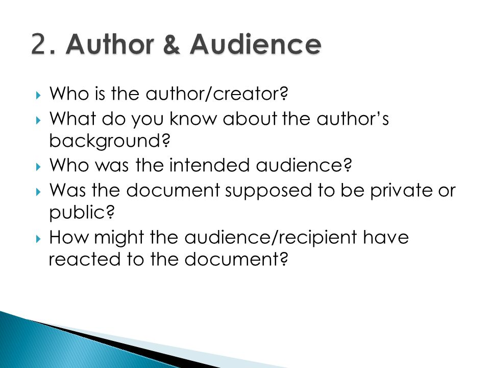 Who is the author/creator.What do you know about the authors background.
