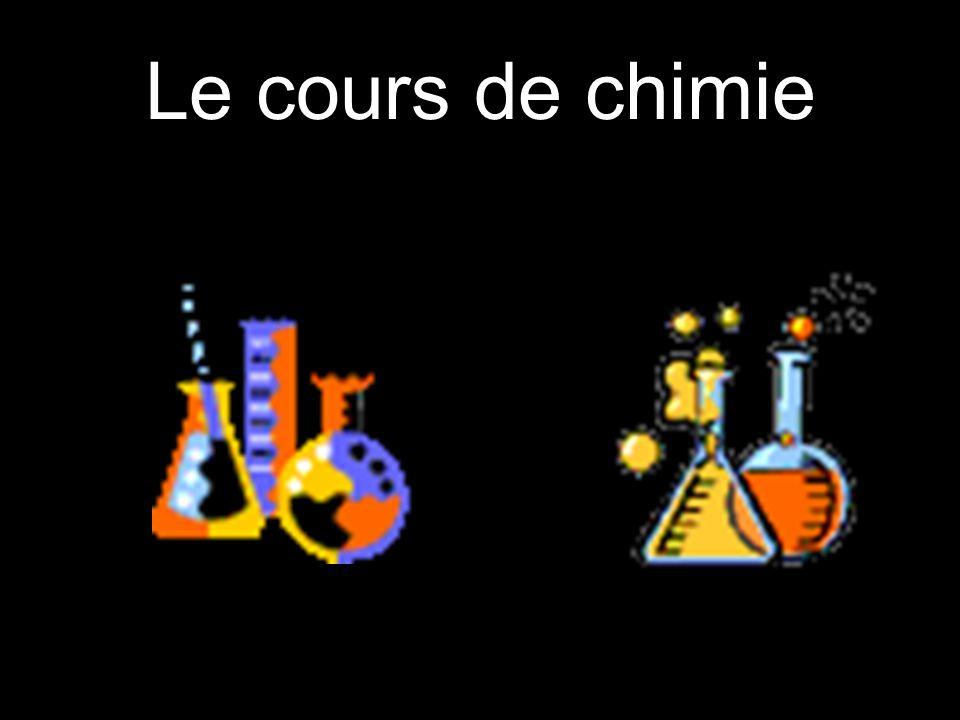 Le cours de chimie