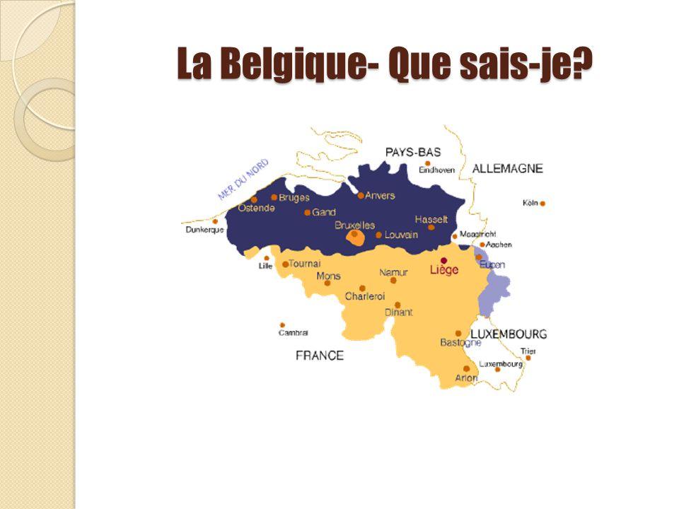 La Belgique- Que sais-je?