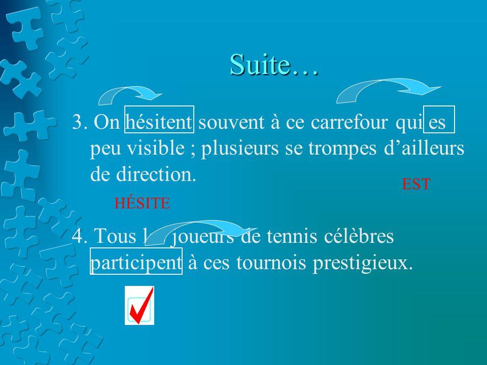 Suite… 3.
