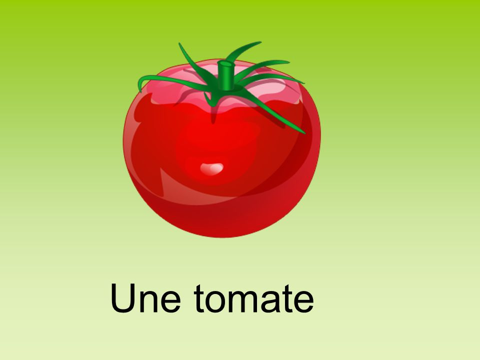 Une tomate