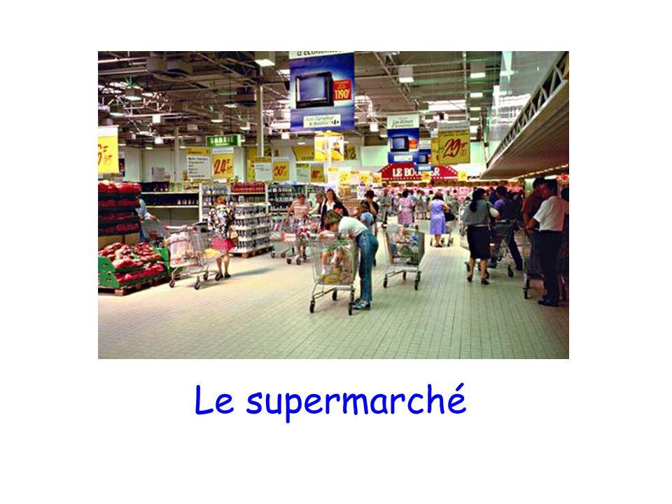 Le supermarché