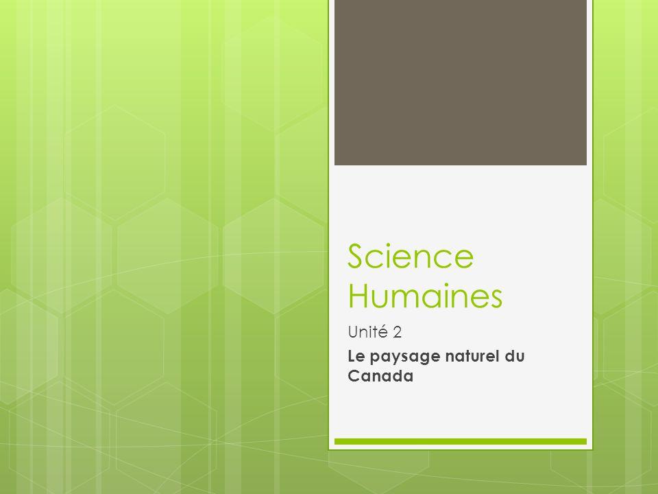 Introduction Géographie du Canada– sa formation des relief et climat - a un grand impact sur le sentiment d identité des Canadiens.