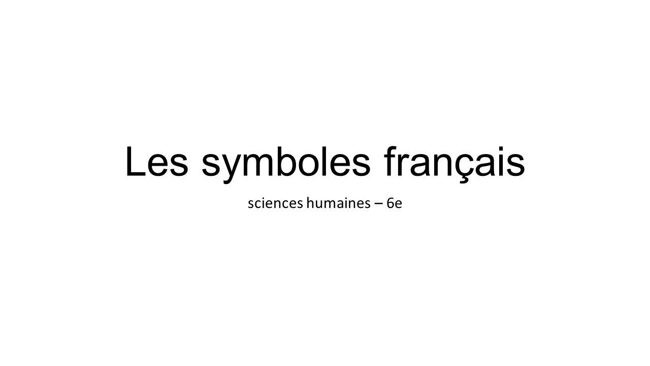 Le drapeau tricolore Le drapeau tricolore bleu, blanc, rouge est lemblème national de la République française depuis 1794.