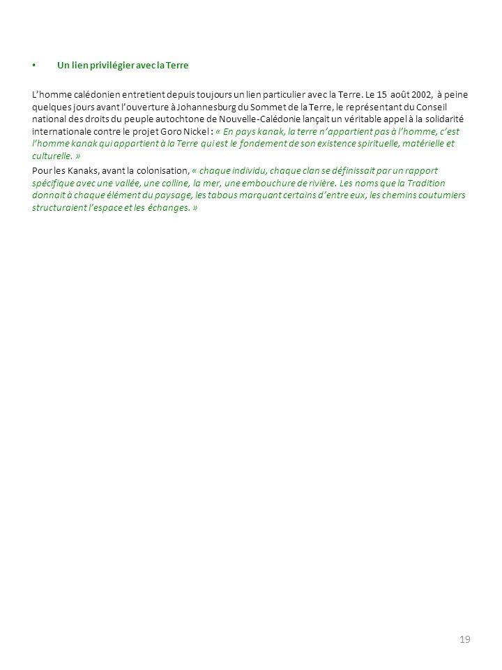 PARTIE II INTERPRETATIONS ET ANALYSES 1- INTERVENTION DUN ACTEUR DU TERRITOIRE Il sagit de M.