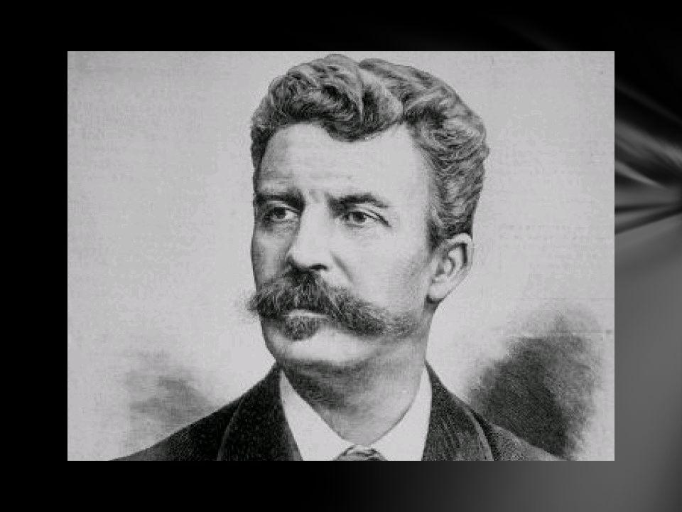 Guy de Maupassant est un écrivain français Il est né en 1850, mort en 1893 après avoir sombré dans la folie et la démence Il fut reconnu de son vivant comme un grand écrivain Cest un digne représentant du réalisme Maupassant est un homme solitaire, pessimiste Biographie