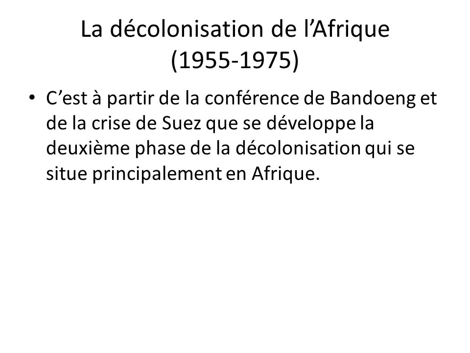 En Afrique du Nord, la France doit affronter une grave crise qui débute en Algérie avec le soulèvement du Front de libération nationale en 1954.