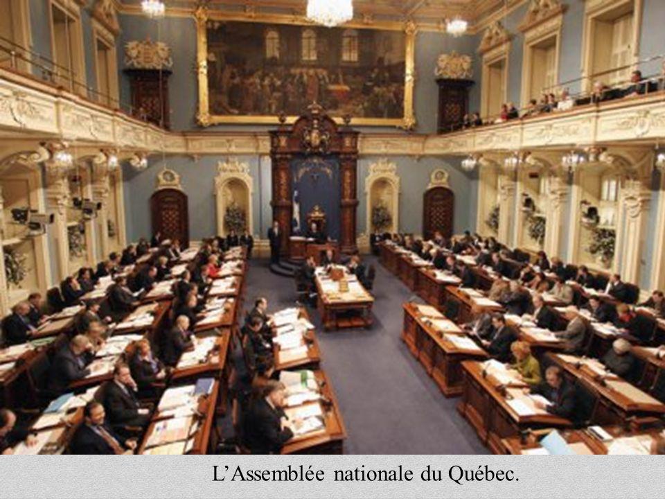 LAssemblée nationale du Québec.