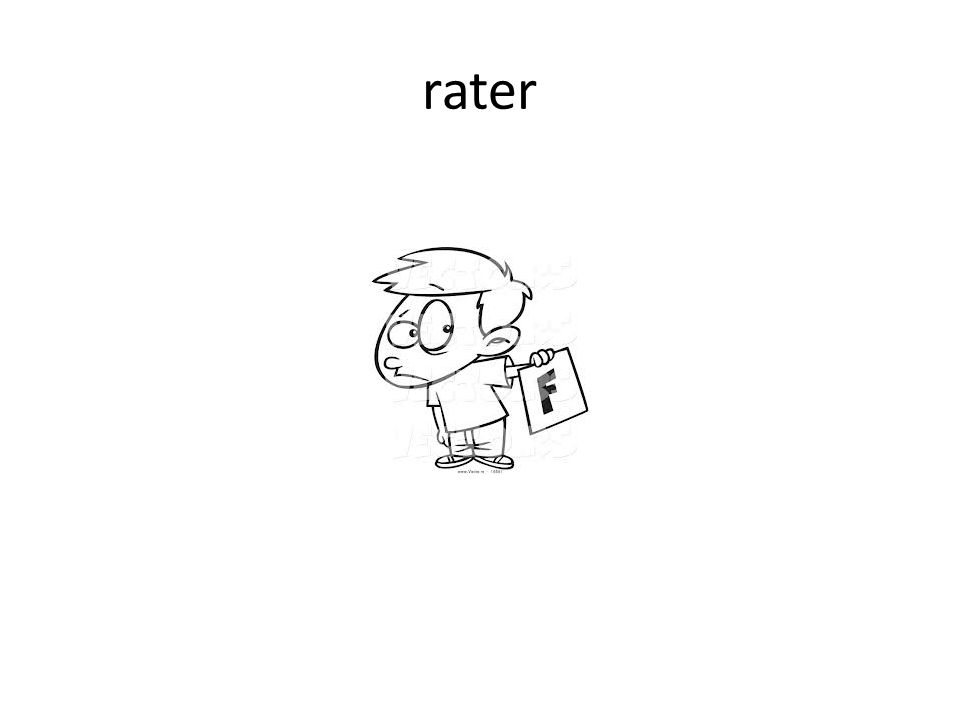 rater