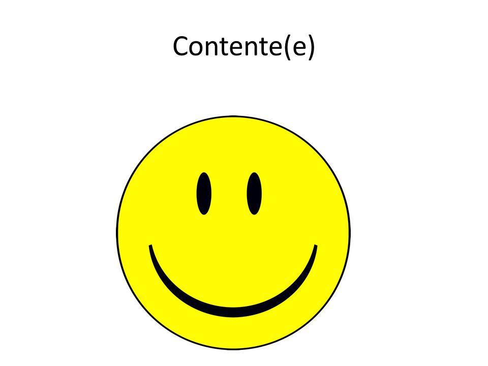 Contente(e)