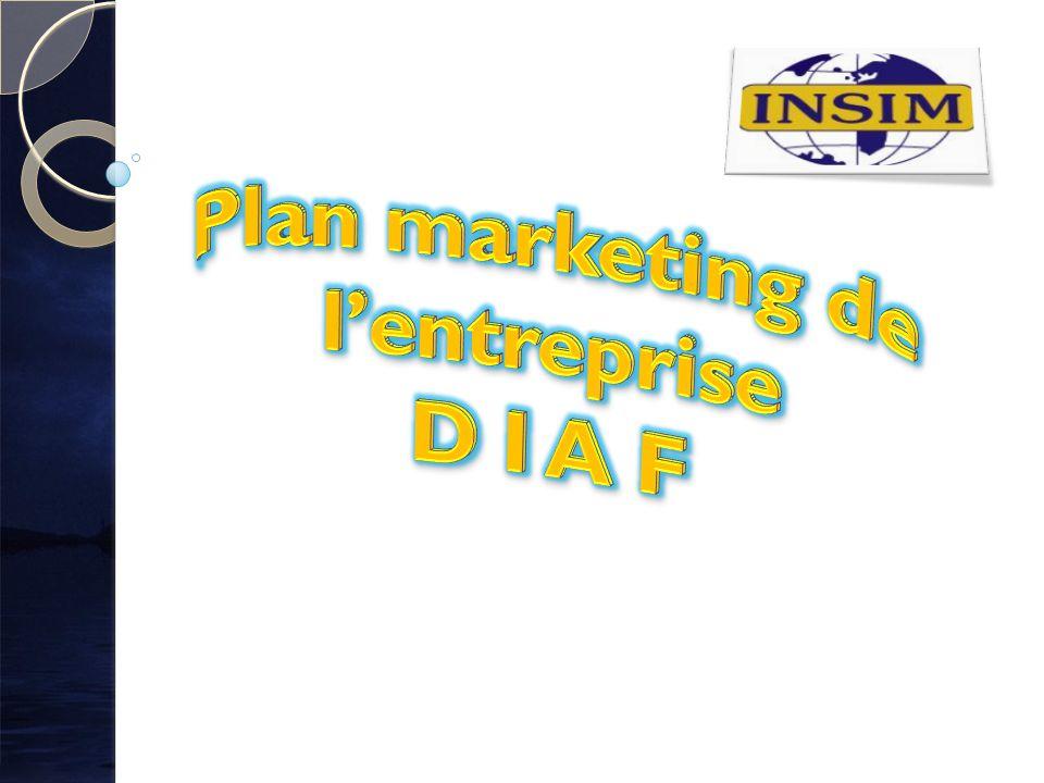 D I A F est une entreprise touristique donc sa mission sera desservir le marché de tourisme.
