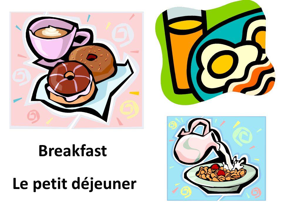 Lunch Le déjeuner