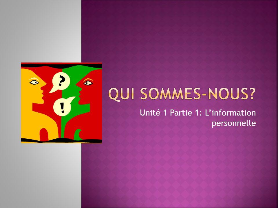 Aujourdhui cest mardi, le trois décembre.Cest la classe de français.
