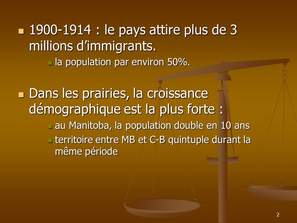 : le pays attire plus de 3 millions dimmigrants.