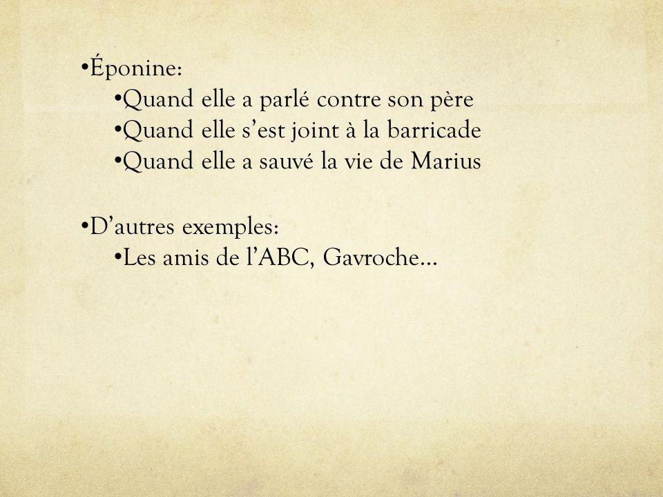 Le conflit: Les conflits interpersonnels: Javert et Jean Valjean Marius et M.Pontmercy Marius et M.