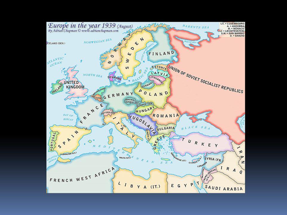 La deuxième guerre mondiale Durée: 1939-1945 Les Alliées La Grande Bretagne La France LAxe LAllemagne LItalie