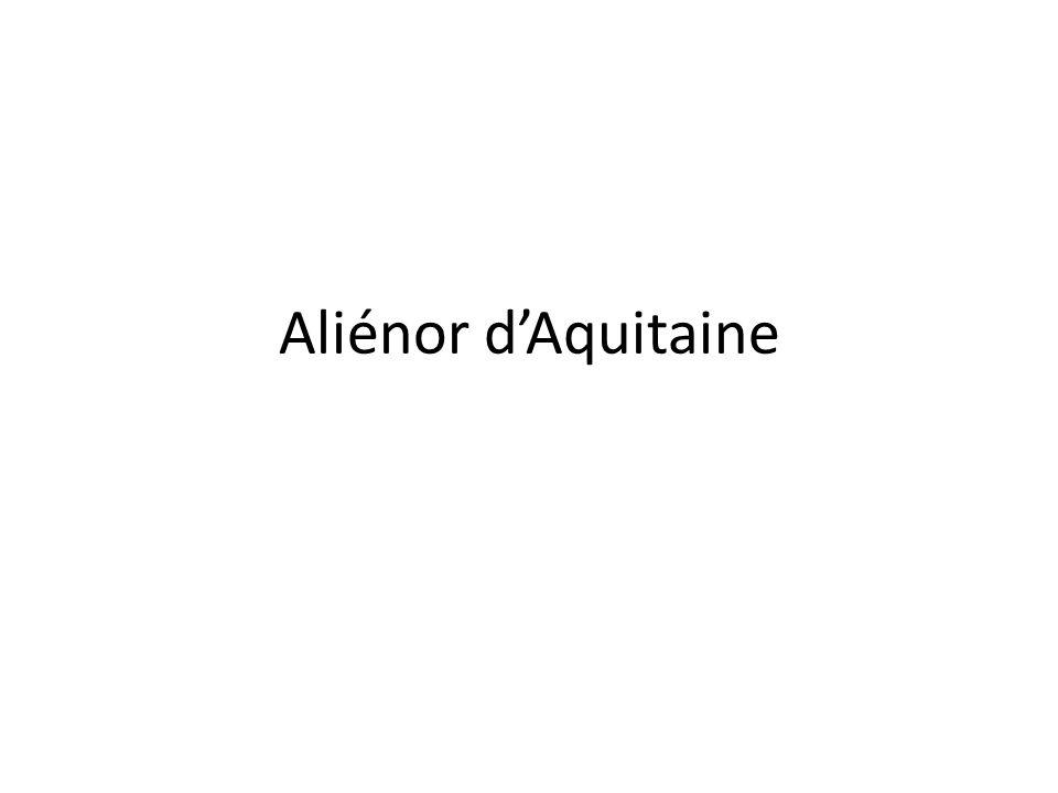 Fille et héritière du duc dAquitaine, Aliénor (1122- 1204) était une princesse dune grande beauté.