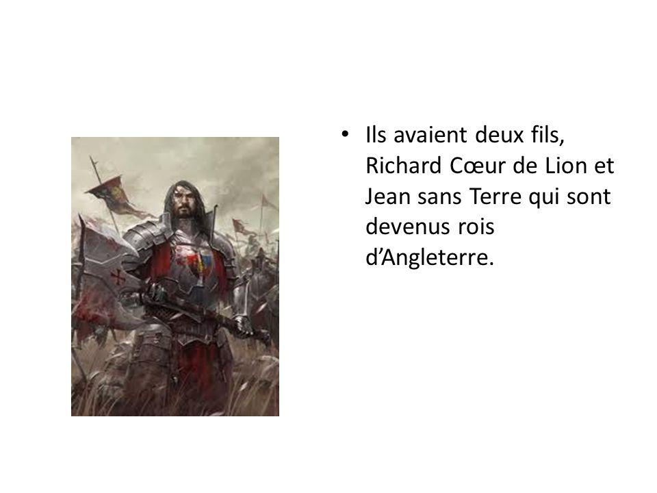 À cette époque, les Anglais possédaient de vastes territoires en France.