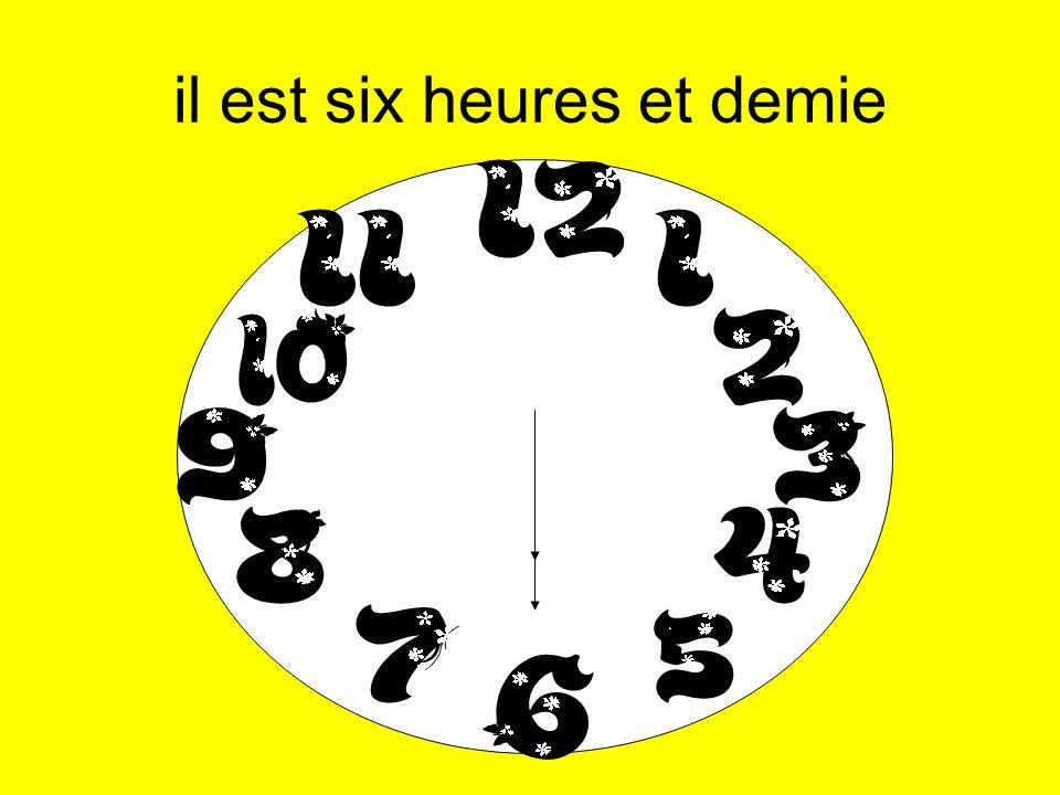 8:25am - il est huit heures vingt-cinq 2:55am - il est trois heures moins cinq 10:26pm - il est vingt-deux heures vingt-six 10:54pm - il est vingt-trois heures moins six 10:07pm - il est vingt-deux heures sept