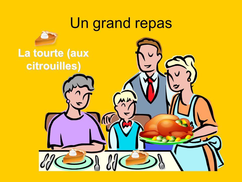 Un grand repas La tourte (aux citrouilles)