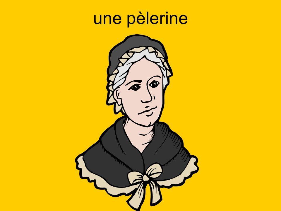 une pèlerine