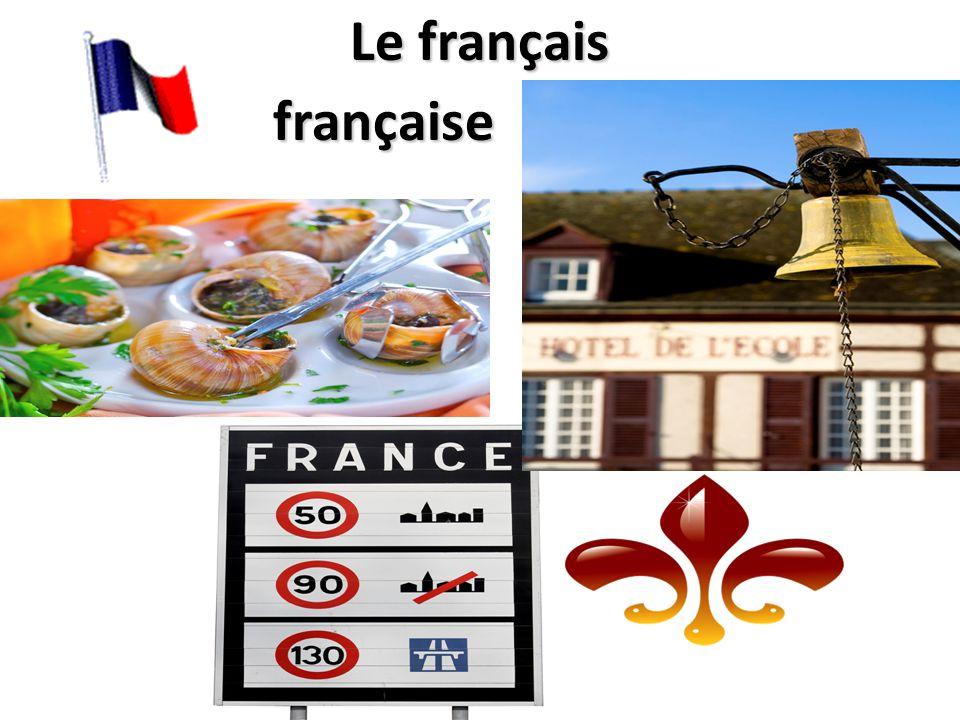 Le français française